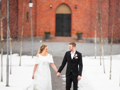 Camilla & Tobias | Bröllopsfotografering utanför Arvika