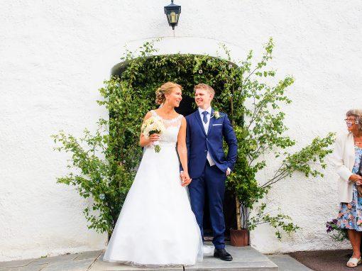 Linnea & Olle | Bröllopsfotografering utanför Kil
